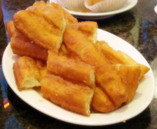 Fried Dough-good with Congee