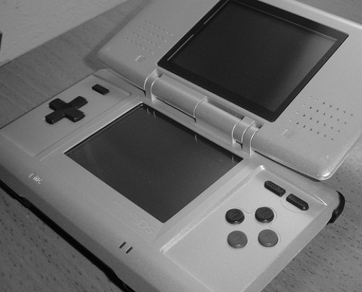 The Nintendo DS in all its glory...proving ME wrong about hand-held games, once and for all! Photo by I. M. Indraneel