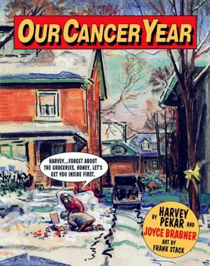 Harvey Pekar's battle with cancer
