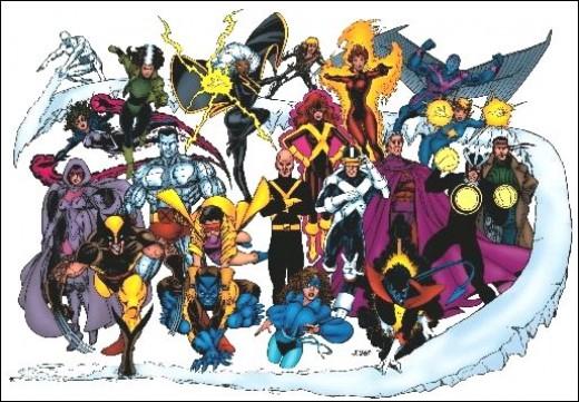 The X-Men, circa 1980s