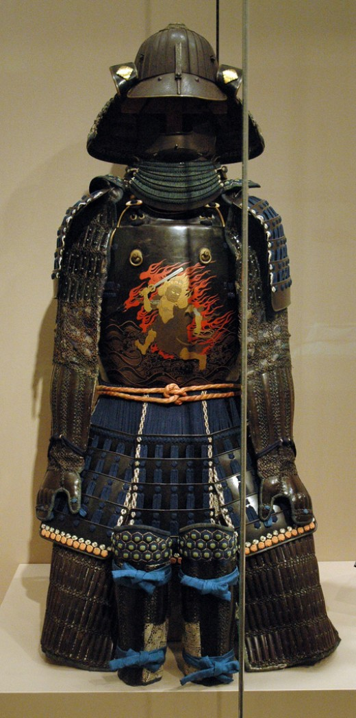 samurai armor by Marshall Astor