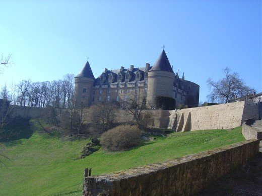 2. Rochechouart Castle This magnificent castle is only ten minutes from Les Trois Chenes and Videix