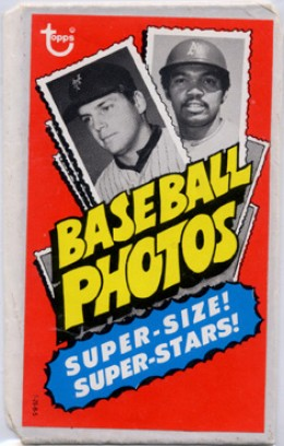 1974 Topps Test Issue Deckle Edge