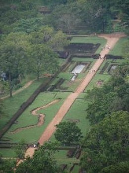 Water Gardens At Sigriya