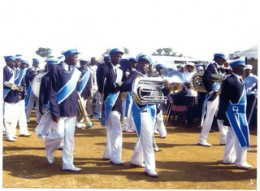 Prophet Mother Christina Nku's Marching Brass Band in South Africa
