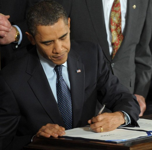 March 23, 2010 - President Barack Obama Signs Revolutionary New Health Care Bill!