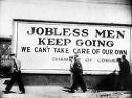 No Jobs Keep on Walking