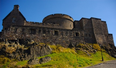 Edinburgh Castle Upper Defenses by ChrisHamilton