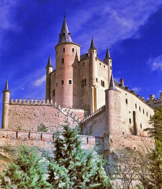 Alcazar of Segovia (Castle), Spain by nigelfj
