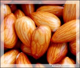 5 almonds soaked overnight and eaten in morning help headaches