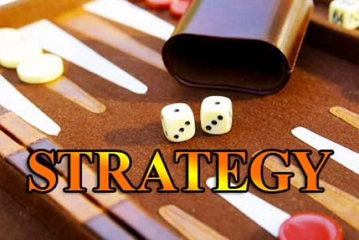 Backgammon strategy
