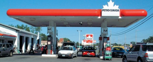 Petro Canada Station on Garrison Road