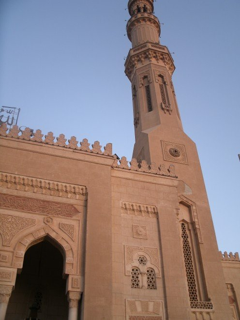 One of the the beautiful mosques of Aswan