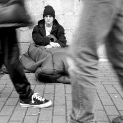 People on the street would love a simple cleaning job.  Helping the homeless isn't just donating a can of strained peas once a year.