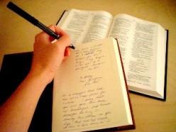 Journaling through the Word