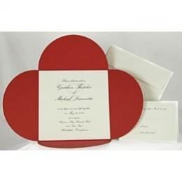 Petals Wedding Invitation
