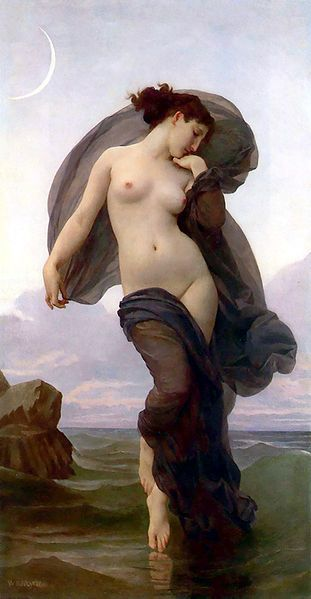 """Evening Mood"" by Bouguereau"