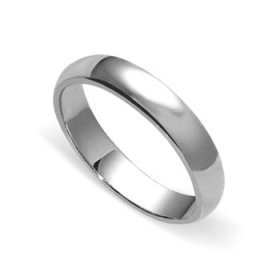 A silver ring to offer protection