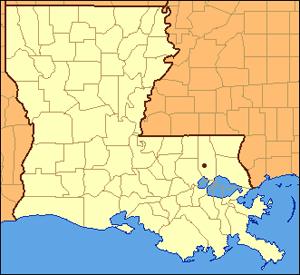 Location of Tickfaw, Luoisiana