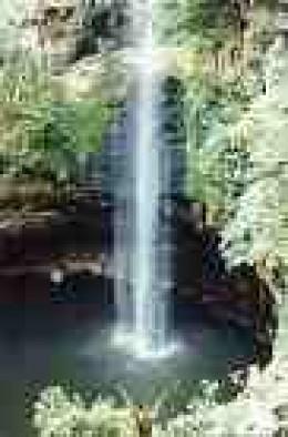 Waterfall in Cuernavaca:  El Salto de San Anton