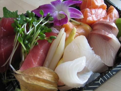 sashimi lunch by Sifu Renka