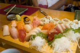 sashimi-sushi combo by ulterior epicure