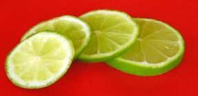 Citrus flavors like this lime go a long way toward cutting the need for sugar, fat, salt to enhance taste.
