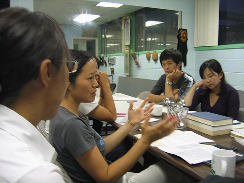 Group study can also be a good way to clear doubts.
