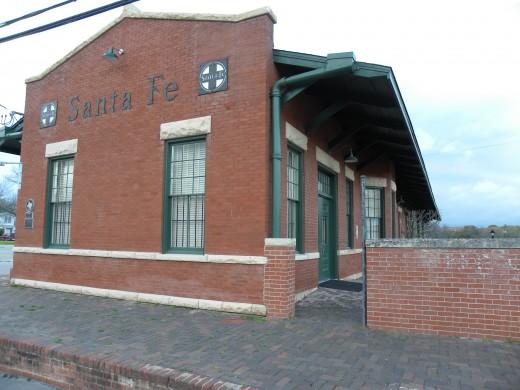 Santa Fe Rail Station Lampasas TX