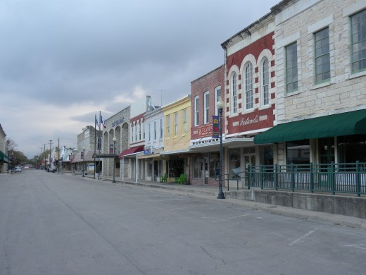 Historic Downtown Lampasas TX