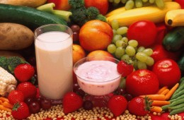 Carbohydrates - Dairy products, fruits, vegetables, cereals