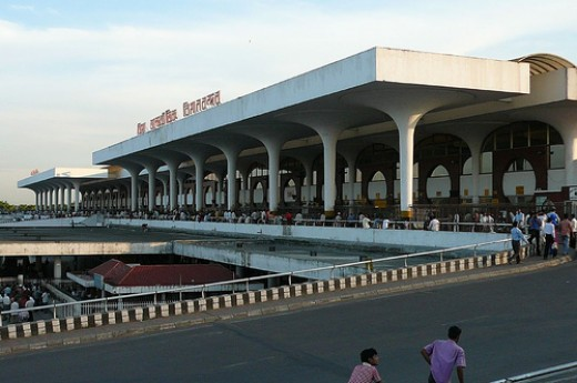 Outside View Zia International Bangladesh Airport