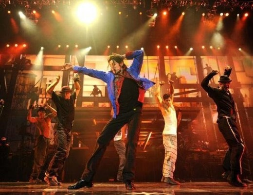 "Dancing in ""This Is It"""
