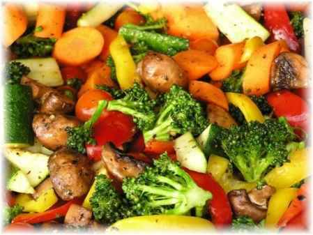Mix veg diet for complex carbs