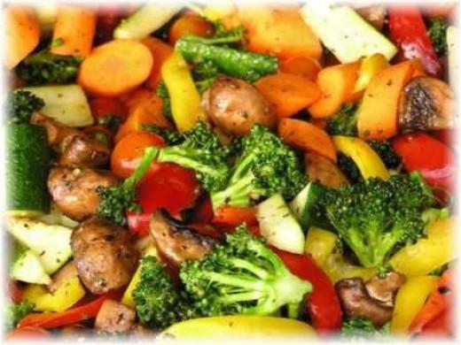 Mix veg diet for complex carbs