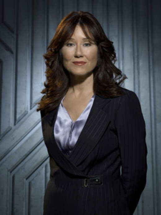 Mary McDonnell as Laura Roslin