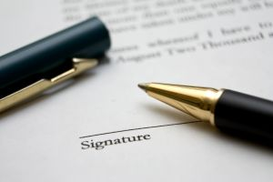 A lease contract protects you. Make sure you have one.