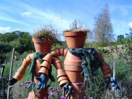 Do not mess with these flower pots though...