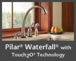 Touch Faucet from delta.com