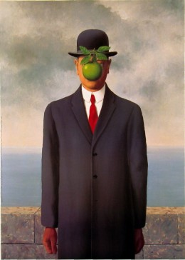Son of Man by Sue Rene Magritte