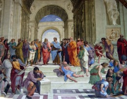 12027 - Vatican - Raphael Rooms - School of Athens by xiquinhosilva