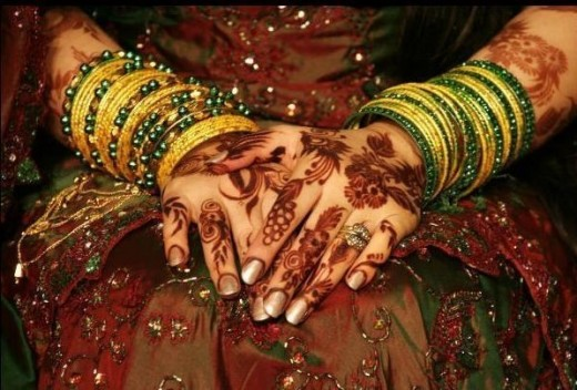 bridal arabic mehndi designs