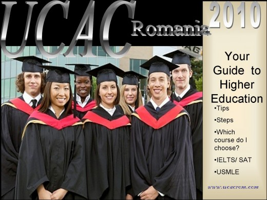 Universities and Colleges Admission Center Romania - UCAC Romania