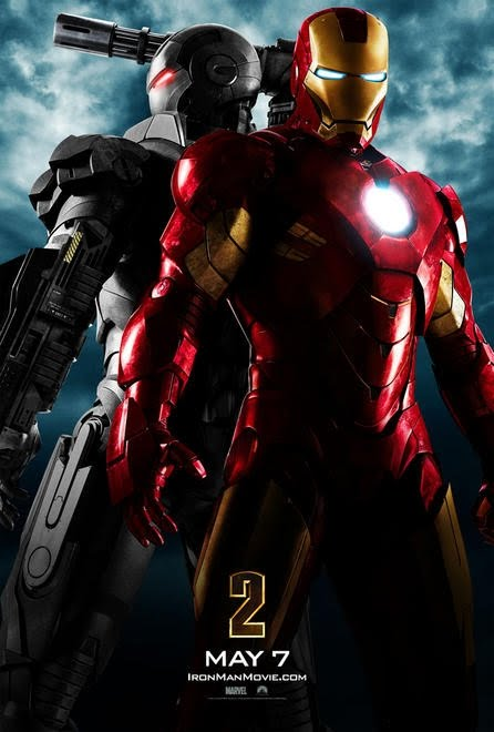 Iron man war machine side by side