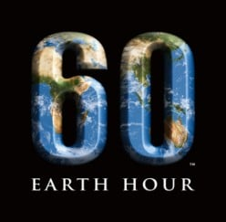 earth hour - save the planet