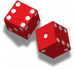 Dice probability theory loves the number 12 composites... About the base 12 aka duodecimal system.