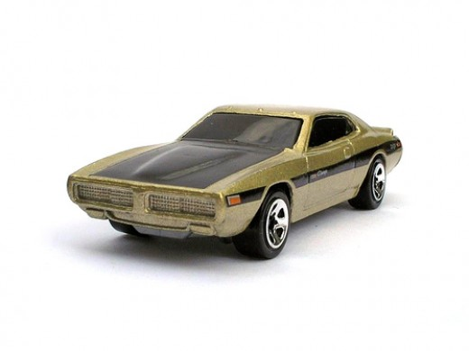 Hotwheels battery powered - 74' Dodge Charger.