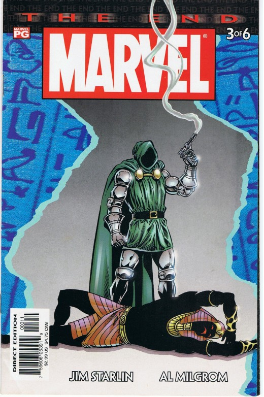 Dr Doom joined forced with the Heroes to prevent the Universe from extinction.