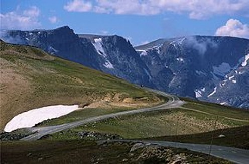 The Beartooth Highway. Photo courtesy of Wikipedia.