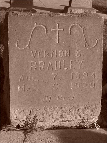 My grandfather's headstone